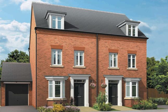 """Thumbnail Semi-detached house for sale in """"Millwood"""" at Sandbeck Lane, Wetherby"""