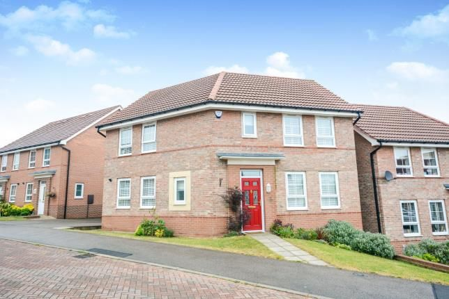 Thumbnail Detached house for sale in Aylesbury Way, Forest Town, Mansfield, Nottinghamshire