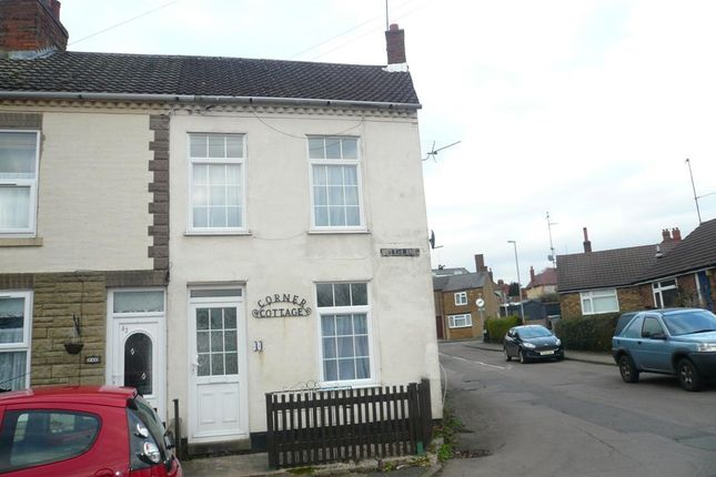 Thumbnail End terrace house to rent in Well Lane, Rothwell, Kettering