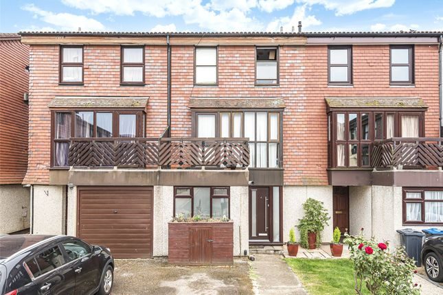 Thumbnail Terraced house for sale in Coniston Close, Raynes Park, London