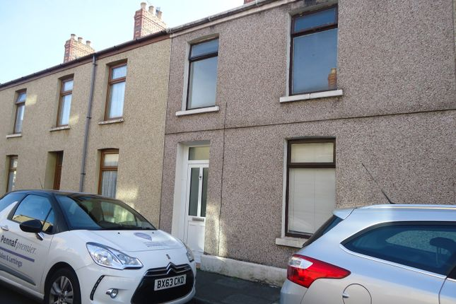 Thumbnail Terraced house to rent in Thomas Street, Port Talbot