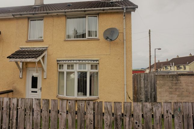 Thumbnail End terrace house for sale in Liscloon Drive, Derry / Londonderry