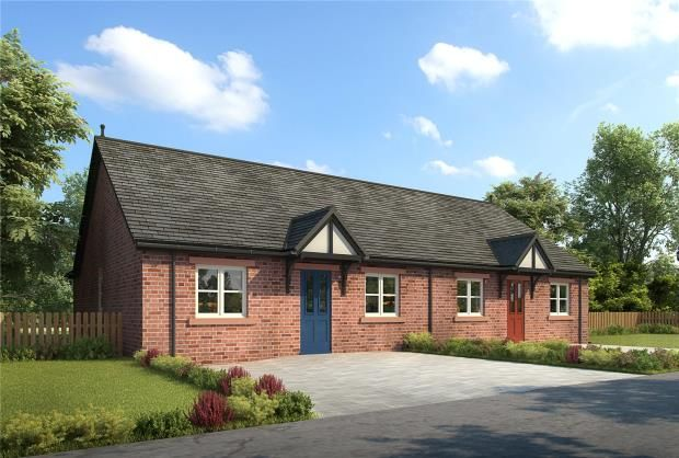 Thumbnail Semi-detached bungalow for sale in Plot 8, Thornedge Gardens, Cumwhinton, Carlisle