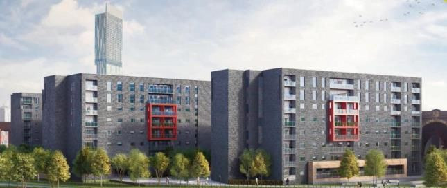 2 Bed Flat For Sale In Potato Wharf Manchester Greater
