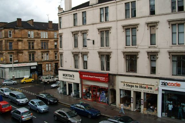Thumbnail Flat to rent in Byres Road, West End, Glasgow