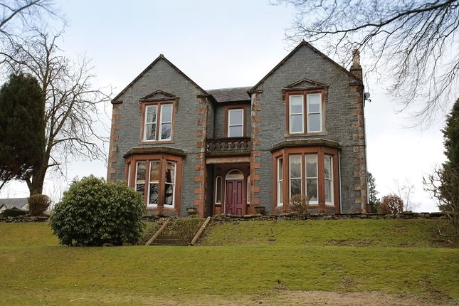 Thumbnail Detached house for sale in Morlich House Ballplay Road, Moffat, Dumfries And Galloway.