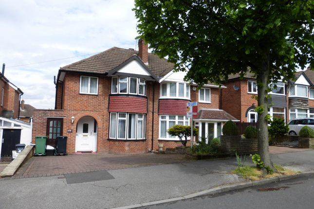 Thumbnail Semi-detached house to rent in Berkeley Road, Shirley, Solihull