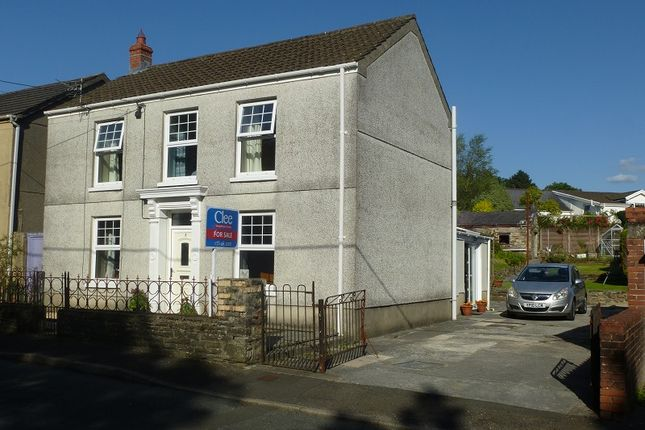 Thumbnail Detached house for sale in Vicarage Road, Twyn, Ammanford, Carmarthenshire.