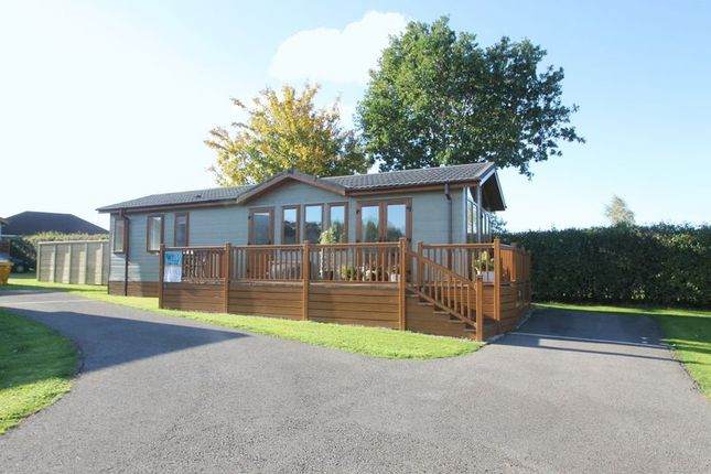 Thumbnail Lodge for sale in Haybridge, Wells