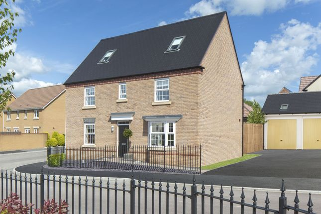 "Thumbnail Detached house for sale in ""Moorecroft"" at Merthyr Road, Llanfoist, Abergavenny"