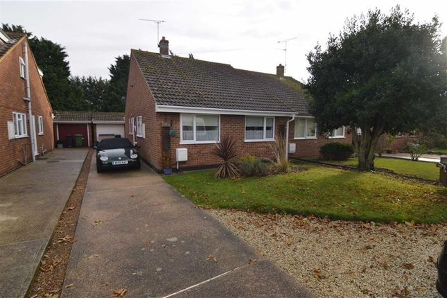 Thumbnail Semi-detached bungalow for sale in Nipsells Chase, Mayland, Chelmsford