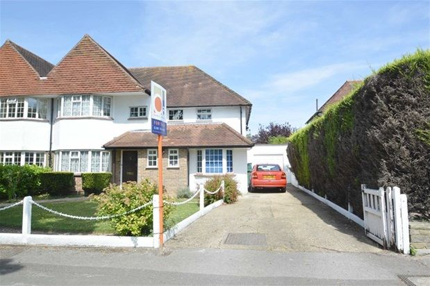 Thumbnail Semi-detached house for sale in The Gallop, Sutton