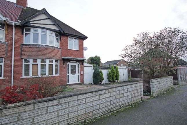 Thumbnail Semi-detached house to rent in Bretlands Way, Stapenhill, Burton-On-Trent