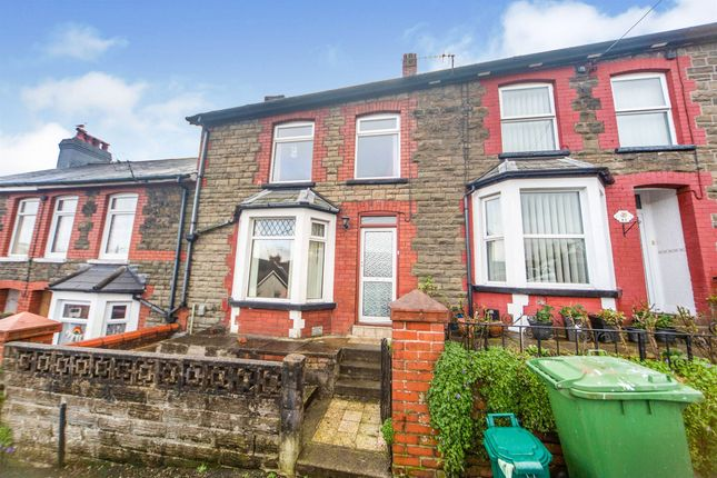 3 bed terraced house for sale in Mound Road, Maesycoed, Pontypridd CF37