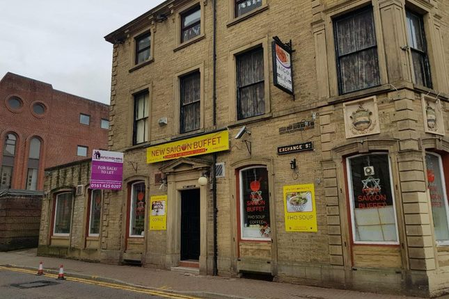 Thumbnail Restaurant/cafe to let in Exchange Street, Blackburn