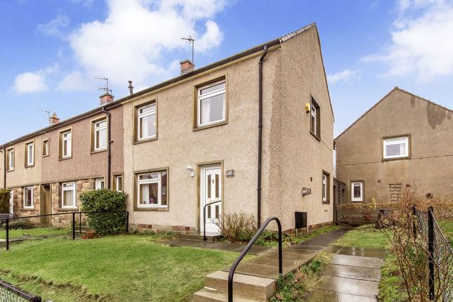 Thumbnail End terrace house for sale in Pentland View Terrace, Roslin