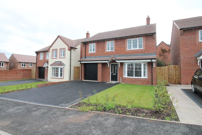 Thumbnail Detached house for sale in Nunnery Close, Meadowbrook, Carlisle