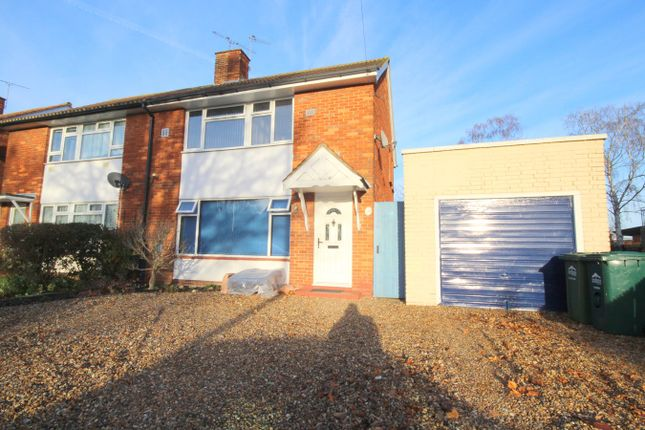 Thumbnail Semi-detached house for sale in St Annes Avenue, Stanwell, Staines Upon Thames