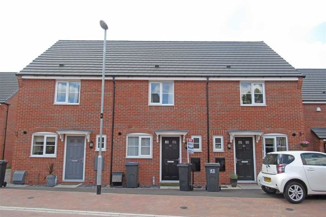 Thumbnail Town house to rent in Slate Drive, Hinckley, Leicestershire