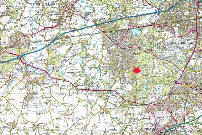 Map 1 of Beacon Point, Church Crookham, Fleet GU52