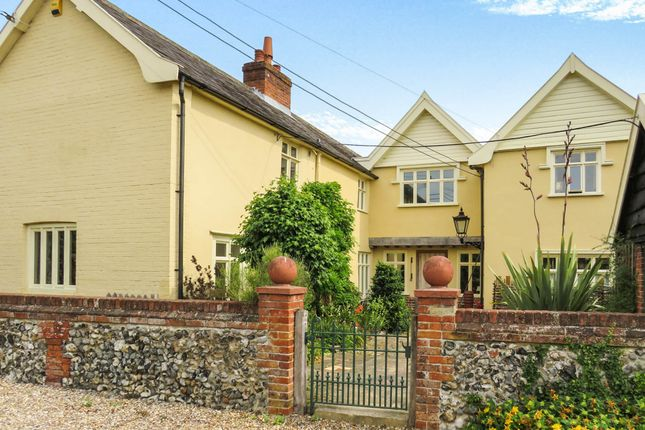 Thumbnail Semi-detached house for sale in Redgrave Road, South Lopham, Diss