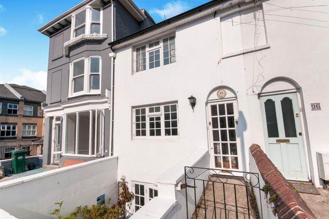 Thumbnail End terrace house for sale in Hanover Street, Brighton