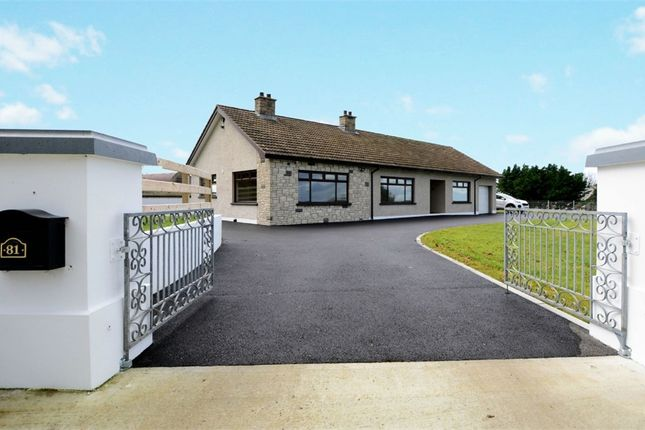 Thumbnail Detached bungalow for sale in Drumlough Road, Rathfriland, Newry, County Down