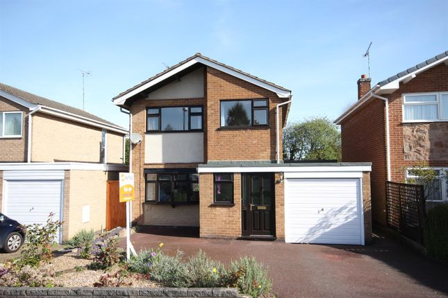 Thumbnail Detached house for sale in Dean Close, Littleover, Derby
