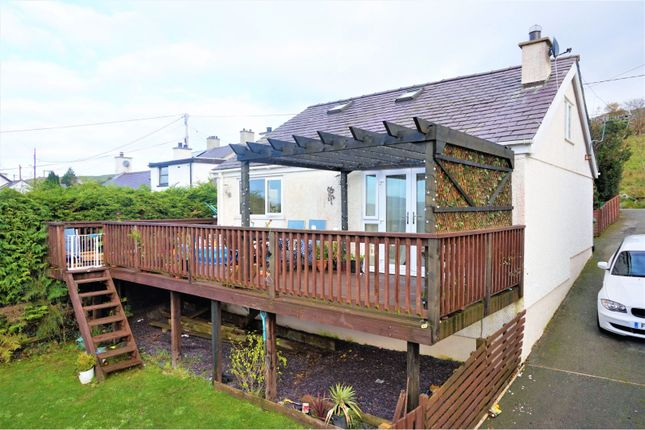 Thumbnail Detached bungalow for sale in Gwernydd, Bethesda