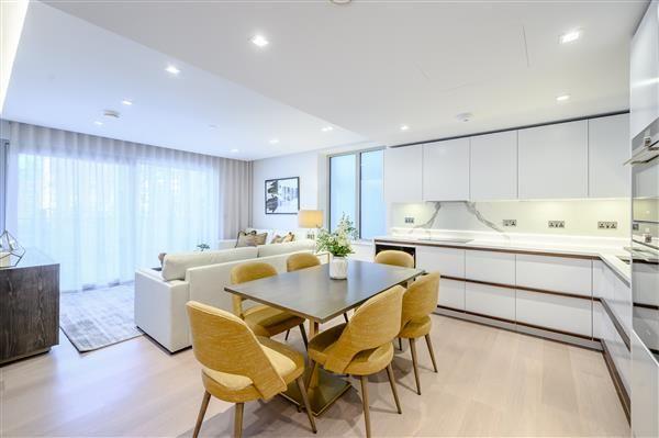 Thumbnail Flat to rent in Garrett Mansions, Edgware Road, London