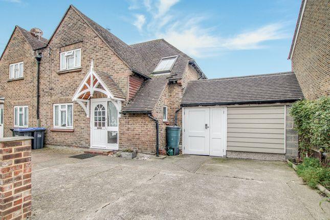 Thumbnail Semi-detached house for sale in Gordon Road, Shoreham-By-Sea
