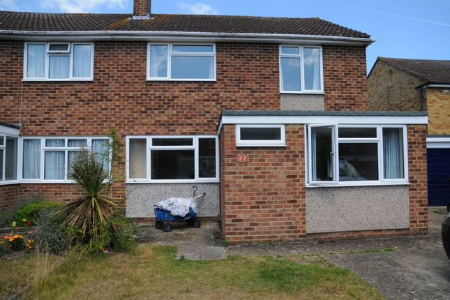 Thumbnail Semi-detached house to rent in Moore Grove Crescent, Egham