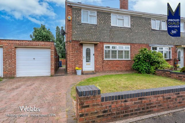 3 bed semi-detached house for sale in Red Lion Crescent, Norton Canes, Cannock WS11