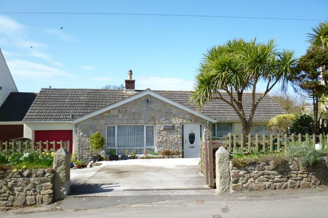 Thumbnail Detached bungalow for sale in Porthcurno, St. Levan, Penzance
