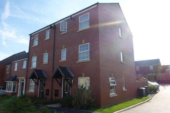 Thumbnail Town house to rent in Red Norman Rise, Holmer, Hereford