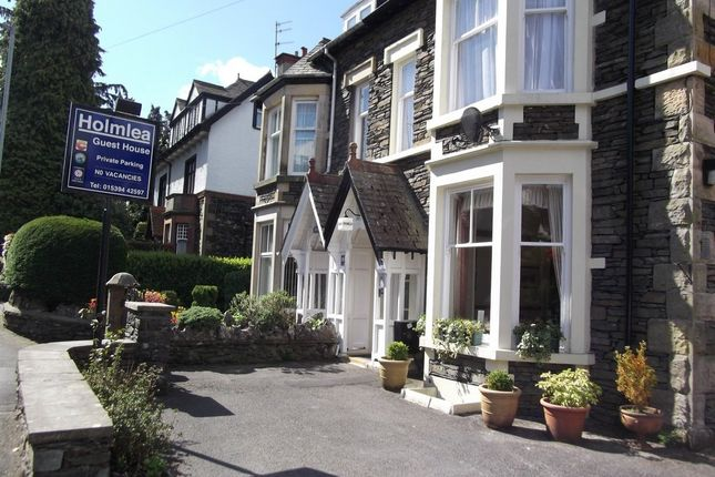 Thumbnail Semi-detached house for sale in Holmlea Guest House, Kendal Road, Bowness-On-Windermere