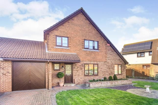 4 bed detached house for sale in Middlemead, Folkestone, Kent CT19