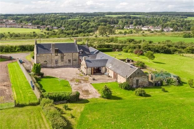 Thumbnail Equestrian property for sale in Cathburn Farm, Cathburn Road, Morningside, North Lanarkshire