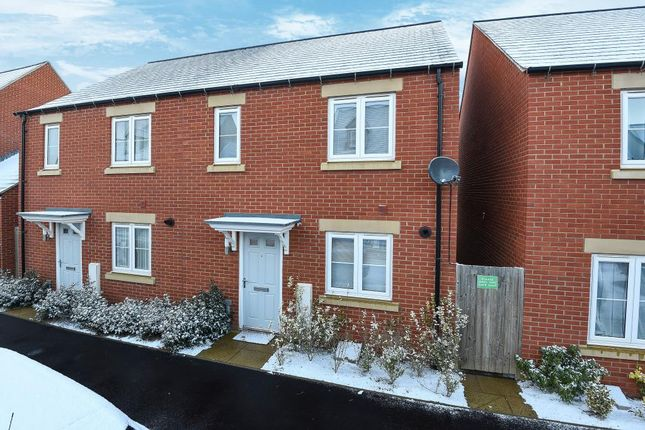 Thumbnail Semi-detached house for sale in Songthrush Road, Banbury