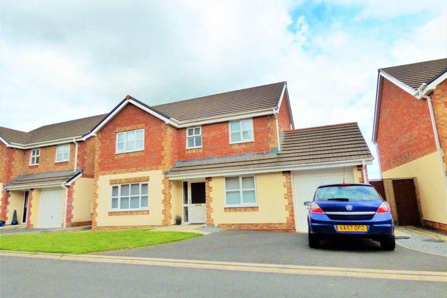 Thumbnail Detached house to rent in Pant Y Fedwen, Peniel, Carmarthenshire