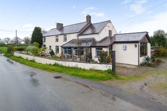 Thumbnail Detached house for sale in Dobsons Bridge, Whixall, Whitchurch, Shropshire