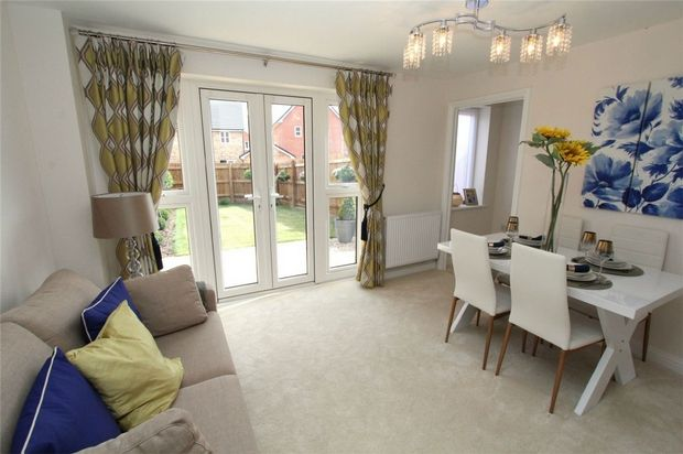 Thumbnail Terraced house for sale in Beauvais Avenue, New Cardington, Bedfordshire
