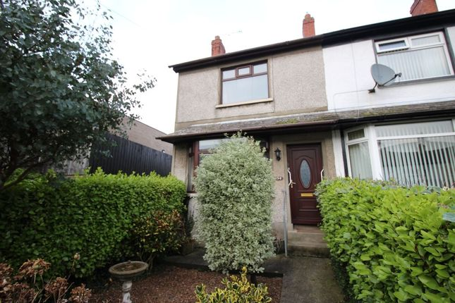 Thumbnail Terraced house for sale in Elmwood Drive, Bangor