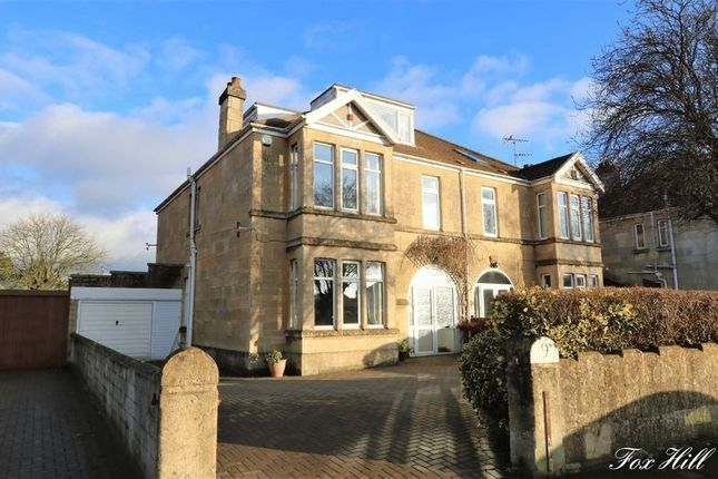 Thumbnail Semi-detached house for sale in Fox Hill, Combe Down, Bath