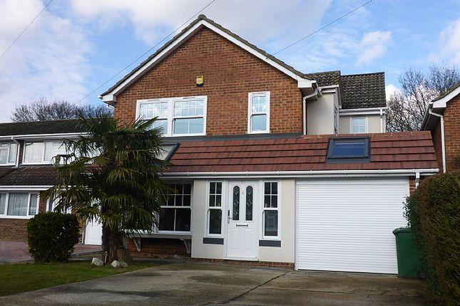Thumbnail Detached house for sale in The Birches, Benfleet, Essex