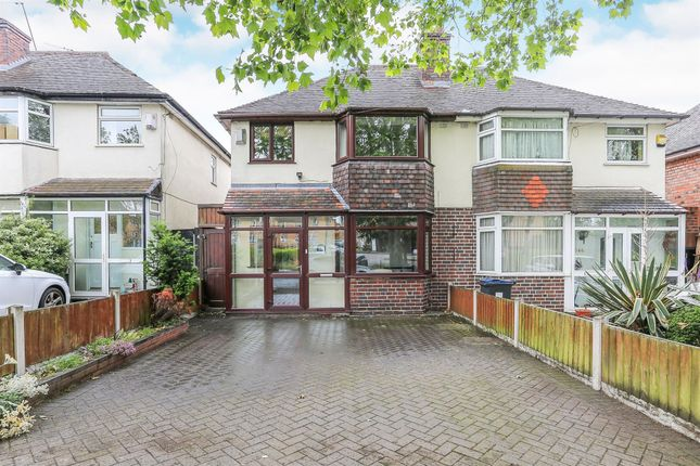 Thumbnail Semi-detached house for sale in Holly Lane, Erdington, Birmingham