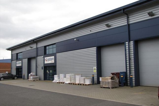 Thumbnail Light industrial for sale in Unit 6, Rear Of 24 Jarman Way, Royston, Herts