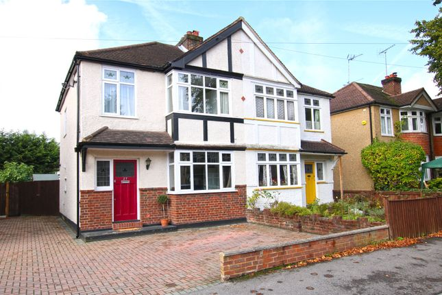 3 bed semi-detached house for sale in New Haw, Surrey