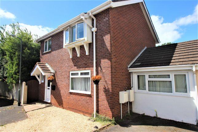 Thumbnail Link-detached house for sale in Bridle Close, Paignton