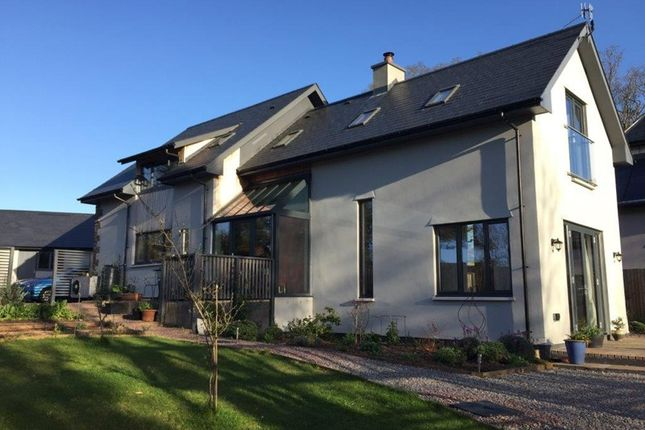 Thumbnail Detached house for sale in Cwrt Mihangel, Llanvihangel Crucorney, Abergavenny